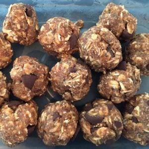 pic: almond butter balls