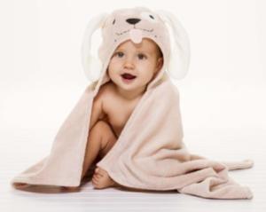 best baby registry || adorable baby bath towels