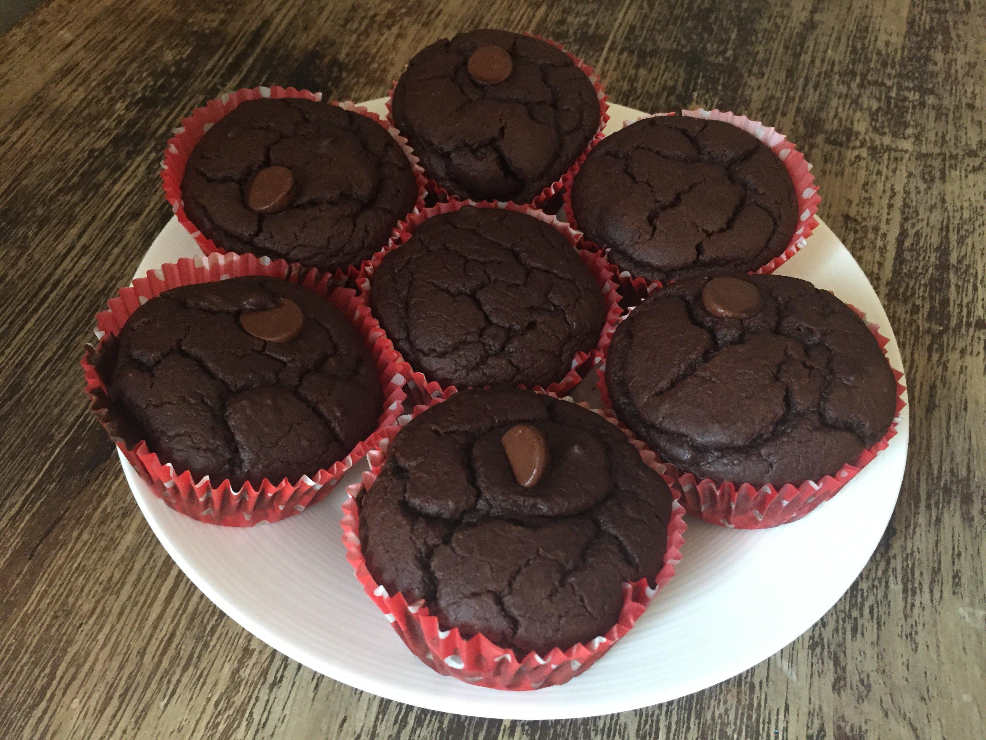 Black Bean Flourless Muffins