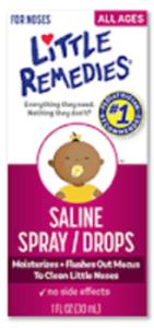 Little Remedies Saline Spray