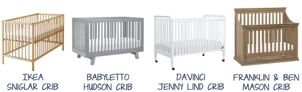 Cribs & Baby Sleep Spots (Ikea Sniglar Crib, babyletto Hudson Crib, DaVinci Jenny Lind Crib, Franklin & Ben Mason Crib) ~Whining With Wine~