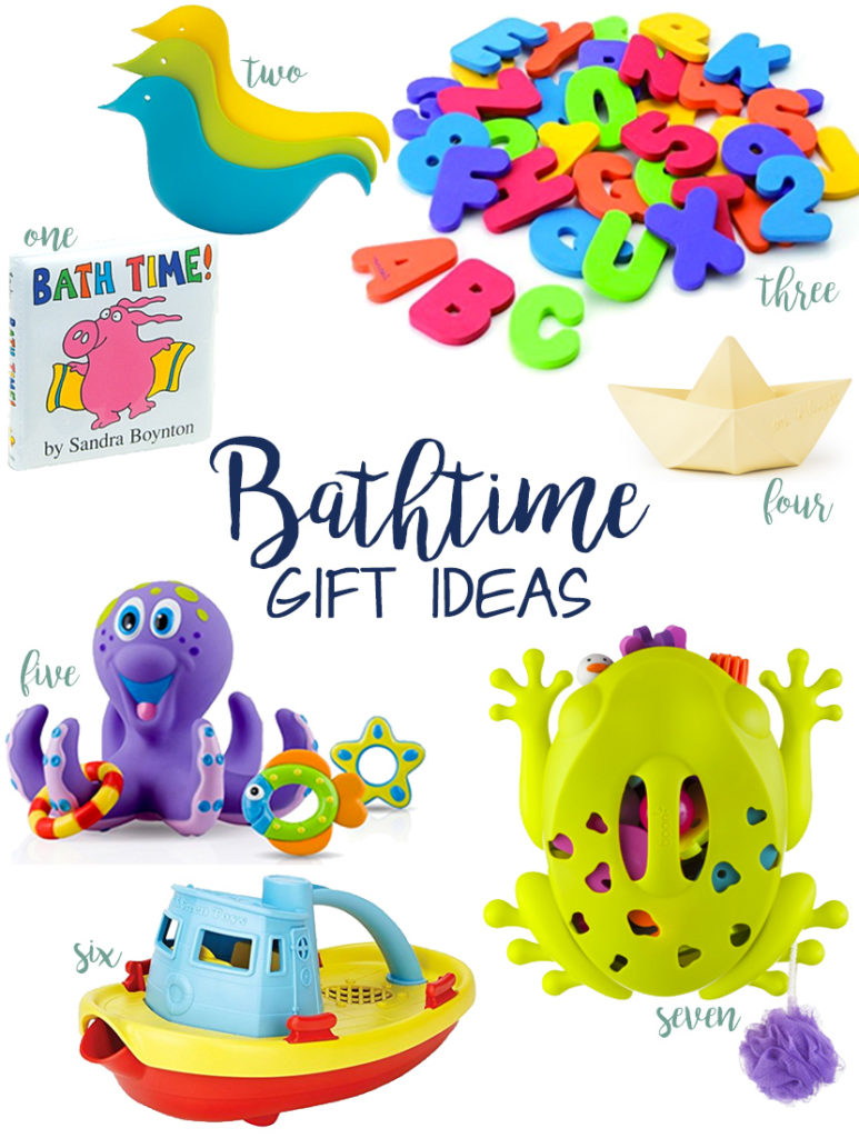 favorite bath toys and bathtime gift ideas