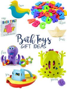 favorite bath toys and bathtime gift ideas