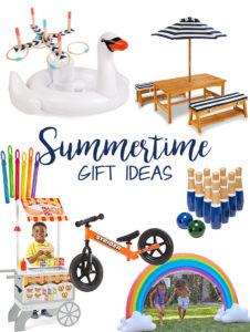 Summertime gift ideas for the little ones