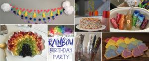 Easy Party Theme: Rainbow Birthday Party
