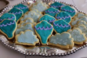 Hot Air Balloon and Cloud Cookies