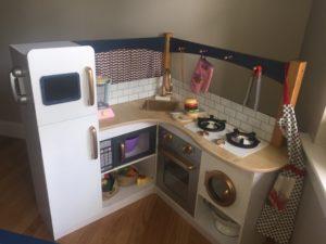 DIY Play Kitchen Renovation / Rehab AFTER Pic