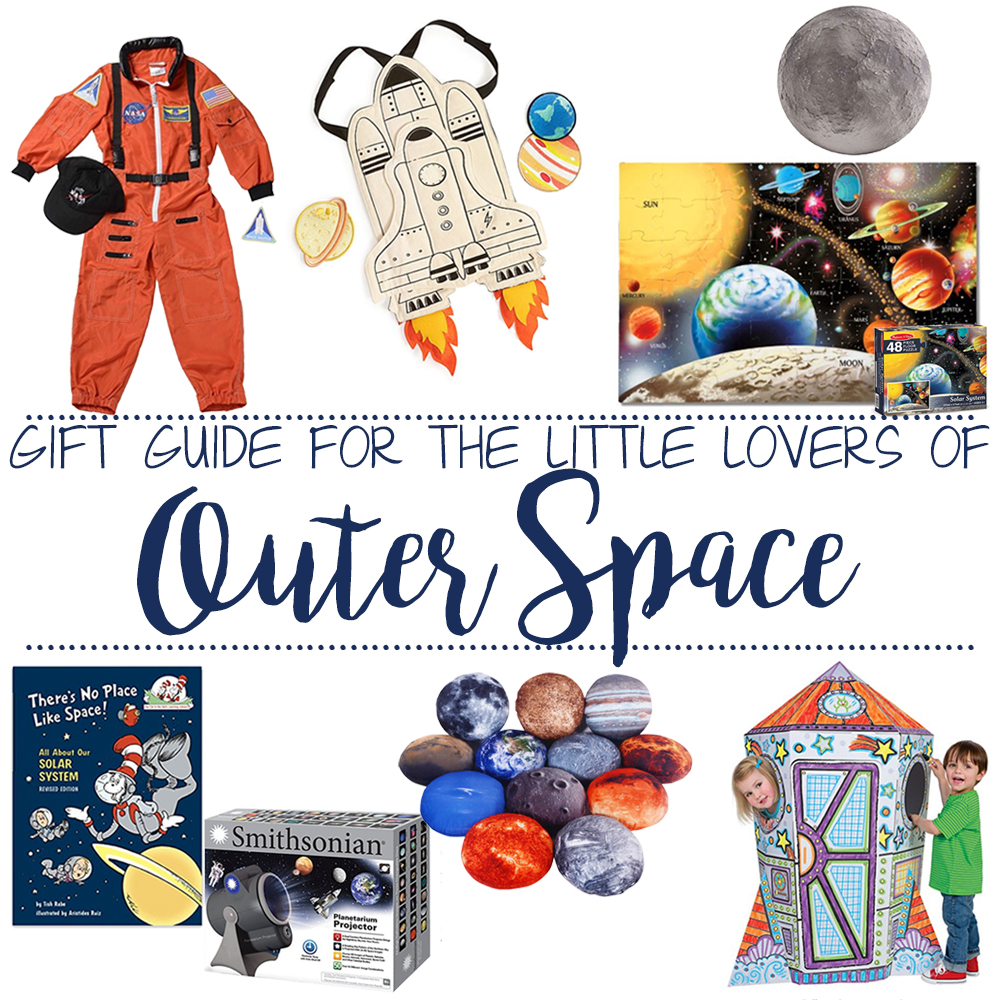 Gift Guide for the Little Outer Space Lover