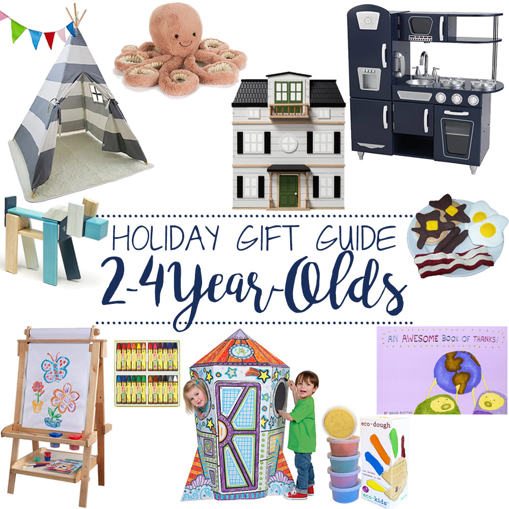 Holiday Gift Guide for 2-4 Year Olds