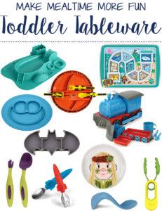 toddler tableware - help picky eating!