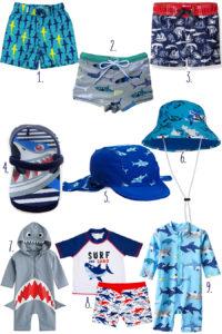 shark swimsuits and shark swimwear
