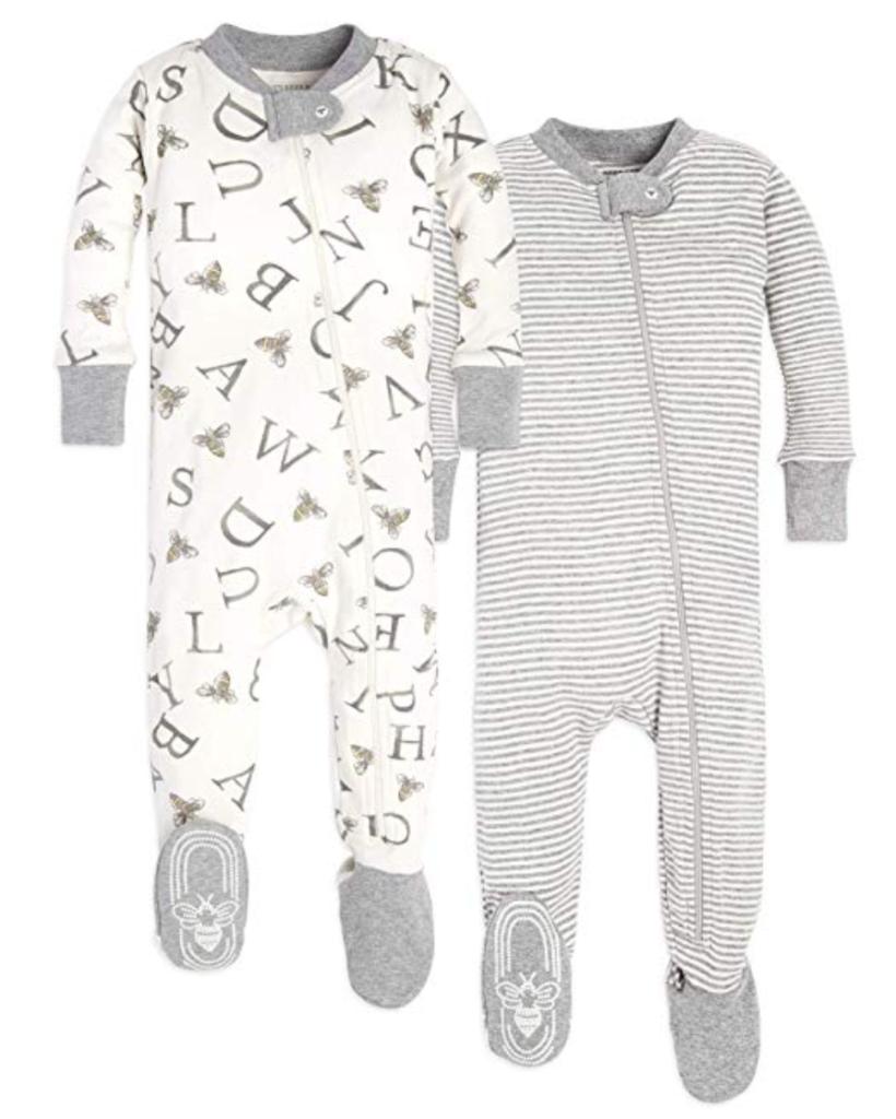 best baby registry || best zipper PJs